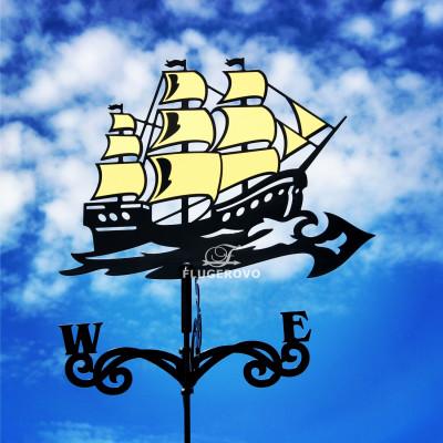 Купить флюгер на крышу Золотые паруса, цена от 2200 руб. доставка в ваш город, сравнение, фото, отзывы.