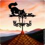 Купить флюгер на крышу Кошка, цена от 1550 руб. доставка в ваш город, сравнение, фото, отзывы.