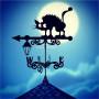 Купить флюгер на крышу Испуганный кот, цена от 1500 руб. доставка в ваш город, сравнение, фото, отзывы.
