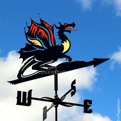 Купить флюгер на крышу Дракон, цена от 2200 руб. доставка в ваш город, сравнение, фото, отзывы.