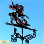 Купить флюгер на крышу Георгий Победоносец 2, цена от 2200 руб. доставка в ваш город, сравнение, фото, отзывы.